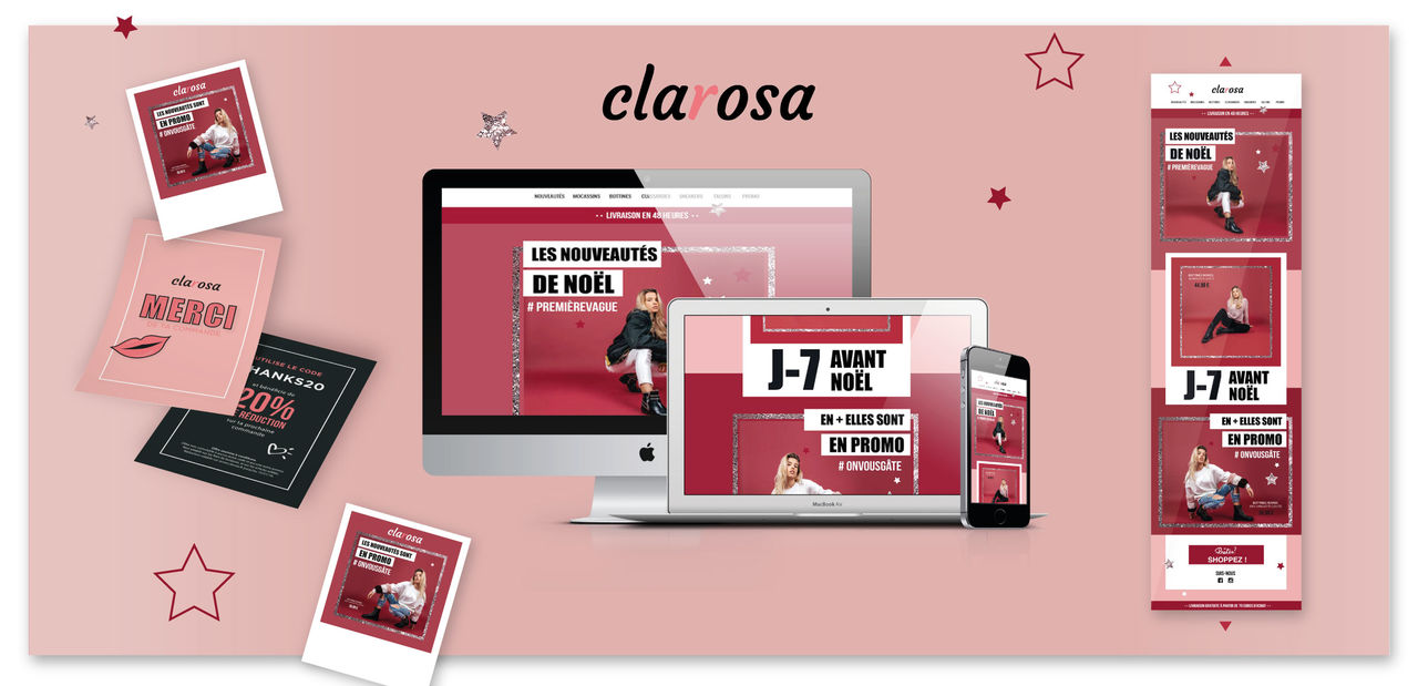 "Web design & Branding ""Clarosa"""