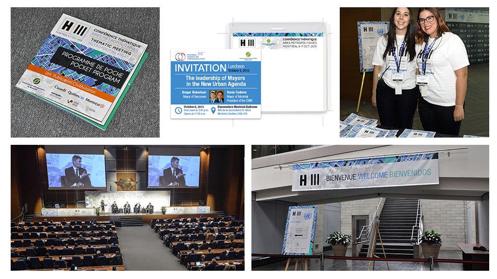 Conférence Internationale ONU Habitat à Montréal
