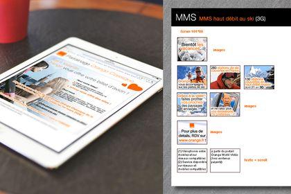 Animation du site Orange.fr