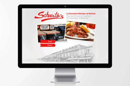 Site du restaurant Schwartzs de Montréal