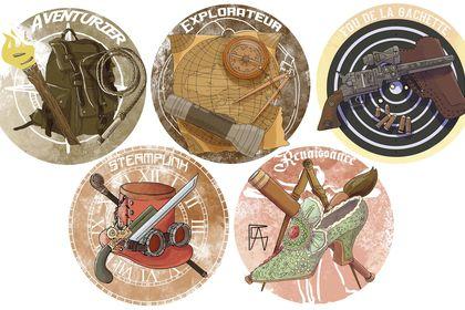 Badges objets