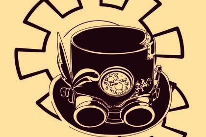 Logo steampunk
