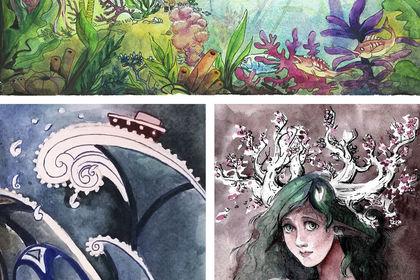 Illustrations aquarelle