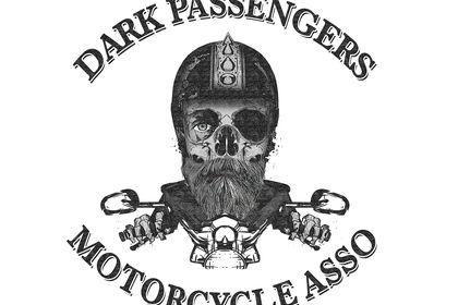Dark Passengers logo croquis