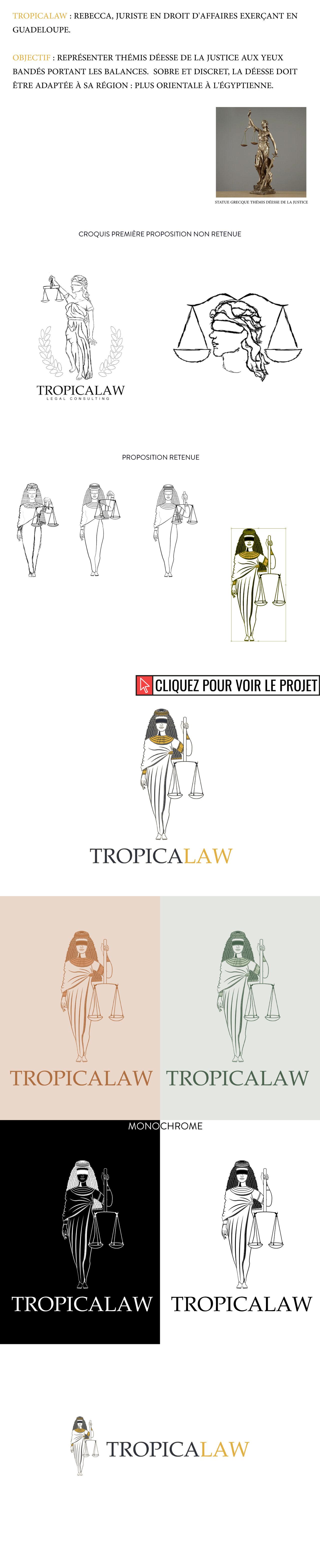 """Logo """"TropicaLaw"""""""