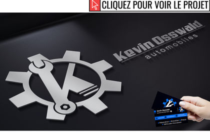 "Logo et carte de visite ""Kevin Osswald"""