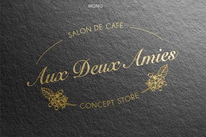 """Logo """" Aux Deux Amies """""""