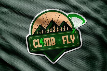 """Logo """"Climb&Fly"""""""