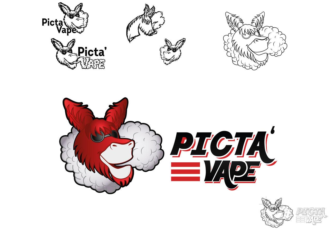 Picta'Vap - Logo magasin e-cigare