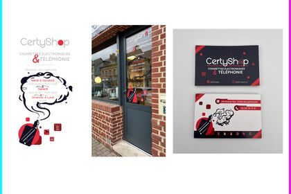 CertyShop - Identité visuelle