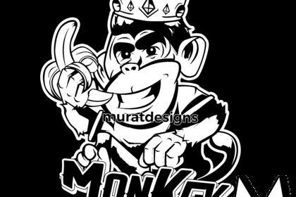 Mascotte Monkey