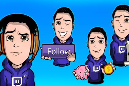 Twitch illustration