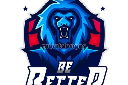 Lion logo esport