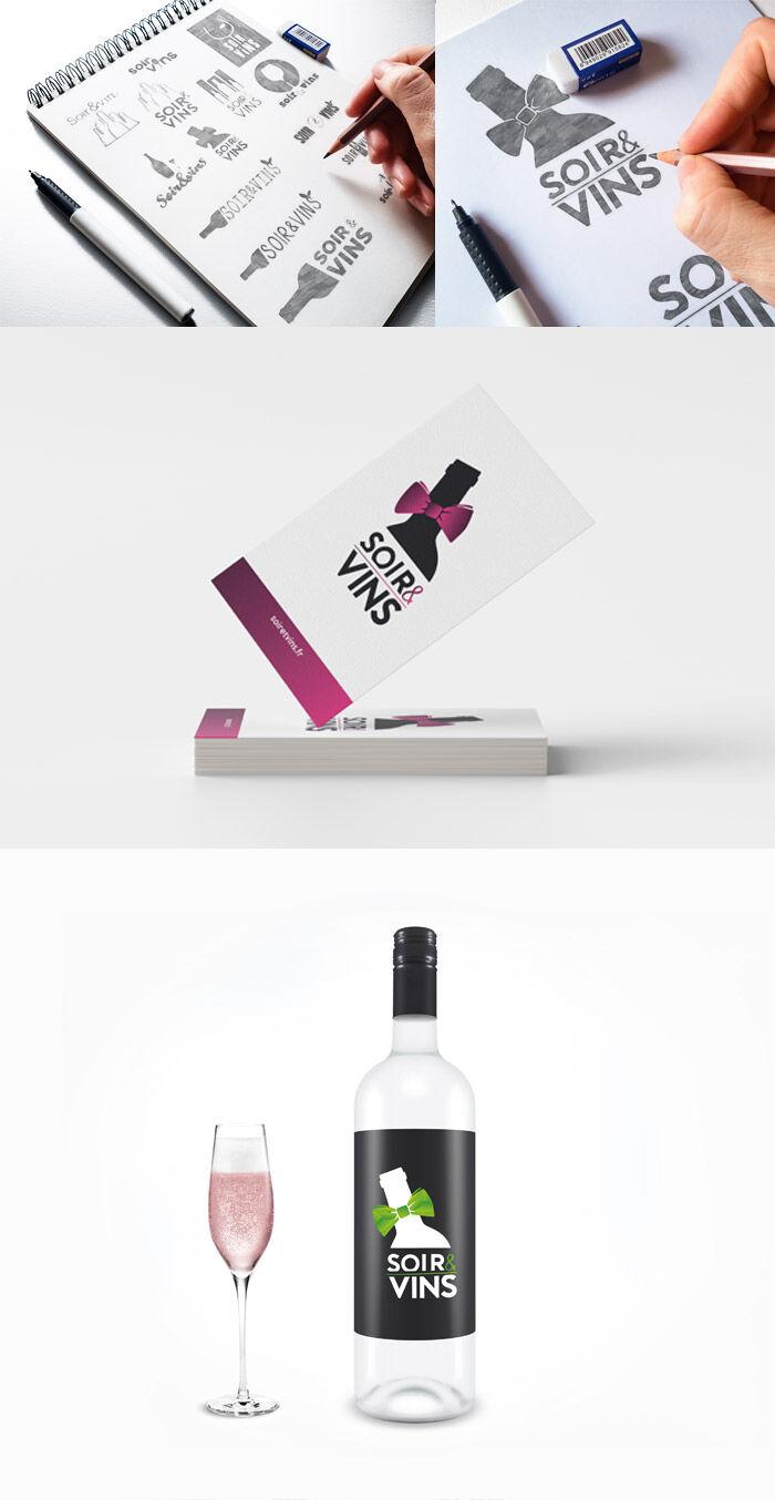 Identité visuelle : logo, étiquettes, goodies, fly