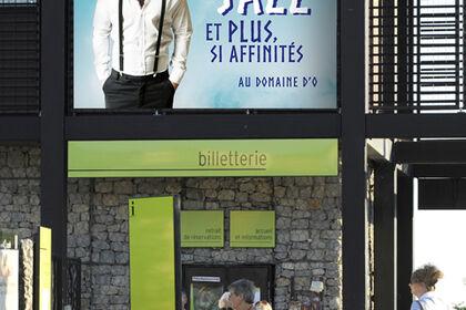 Affiche Festival Radio France : signalétique