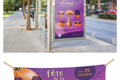 Affiche événementielle municipalité