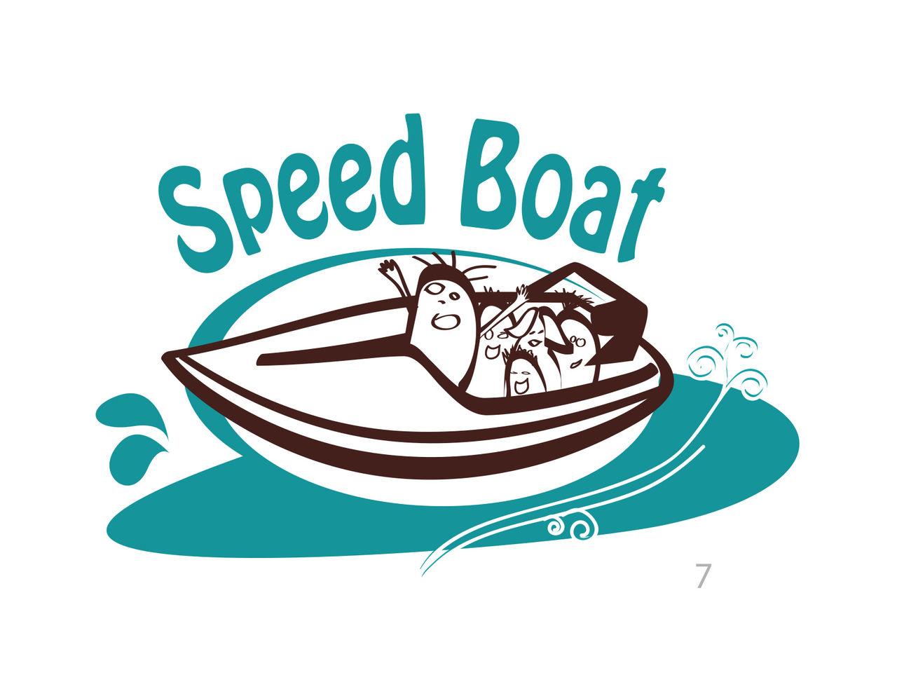 Logo Speed Boat