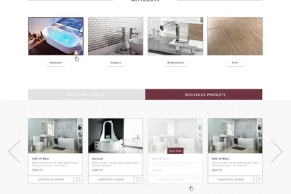Design ecommerce web site