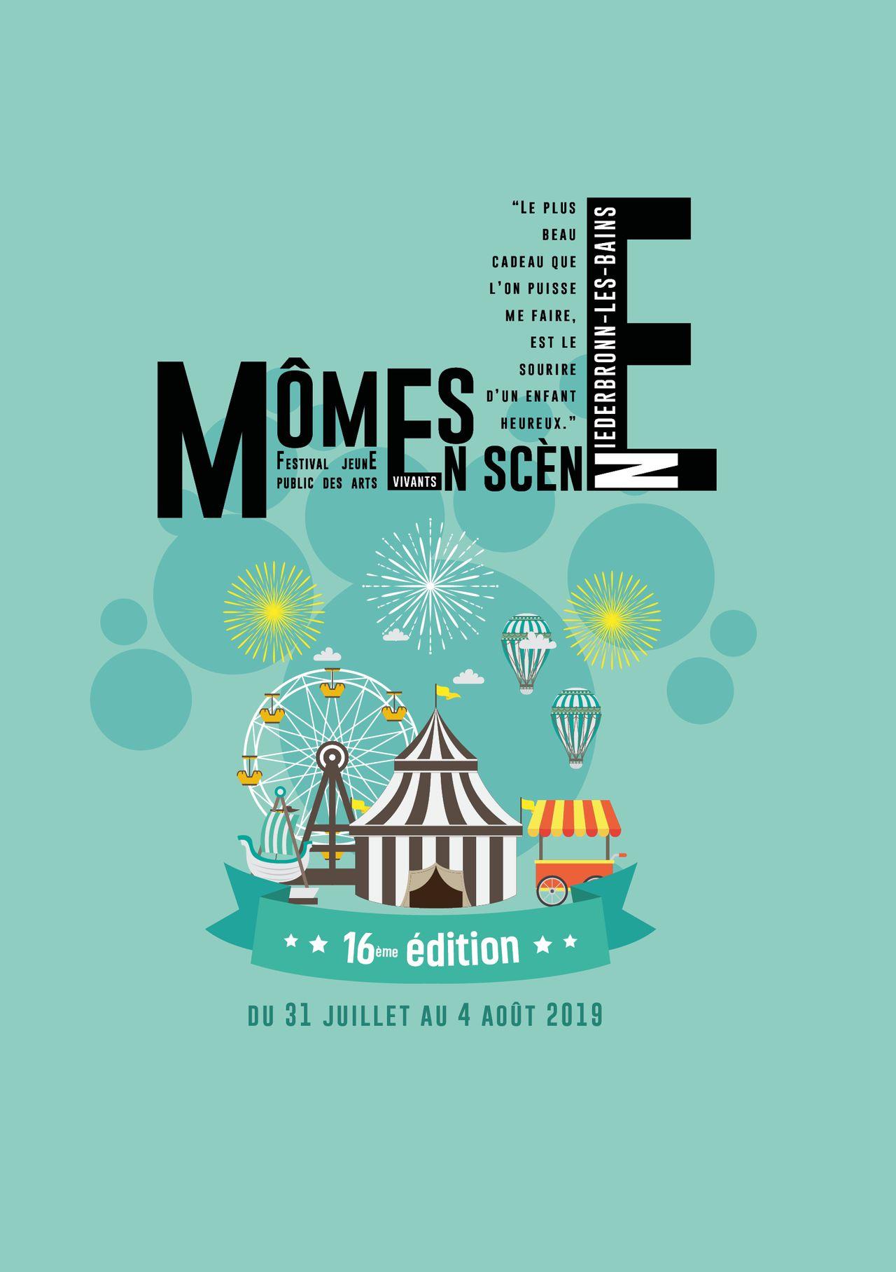 1ère de couverture Programme festival