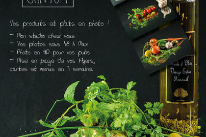 Flyer photo culinaire
