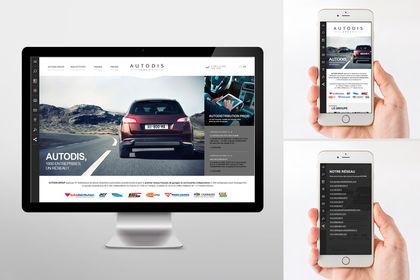 Site Web Autodis