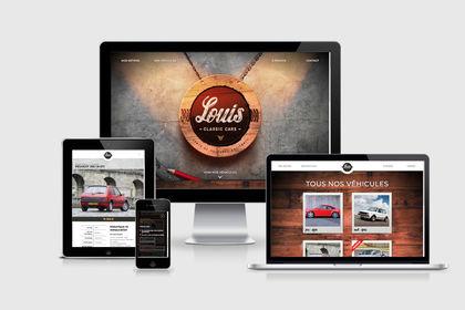 Site web Louis Classic Cars