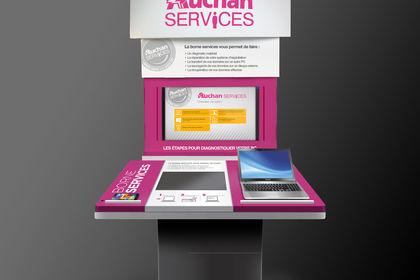 Borne Auchan Services - SDS