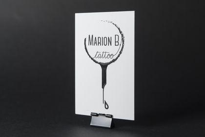 "Logo ""Marion B. Tattoo"""