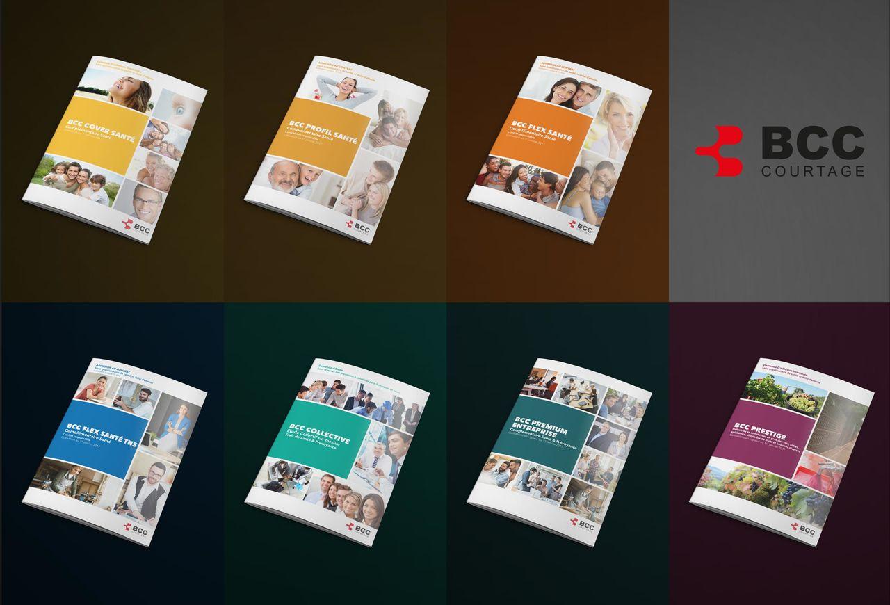 BCC Courtage - Plaquettes produits