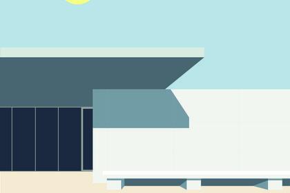 Pavillon Allemand, Mies Van der Rohe - Barcelone