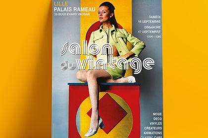 Affiche Salon du Vintage Lille