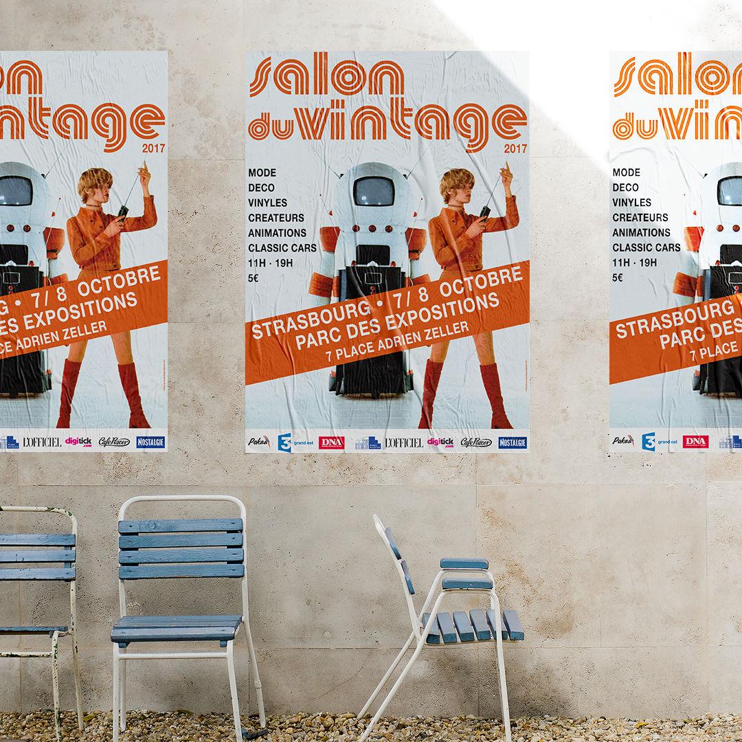 Affiche Salon du Vintage