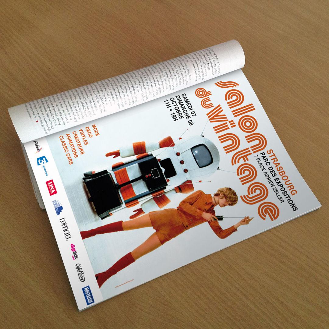 R3ème de couverture L'OFFCIEL Magazine