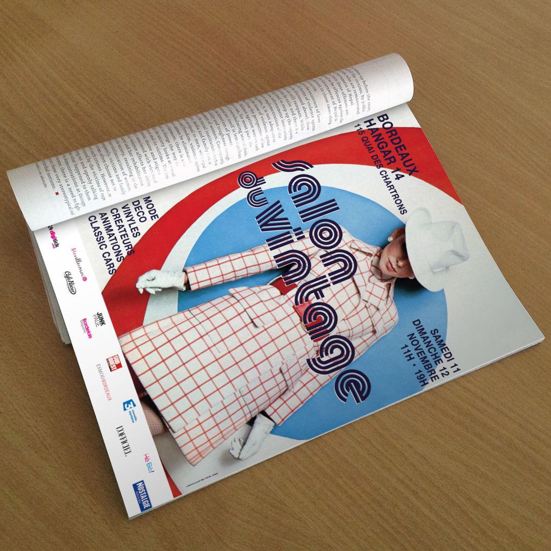 3ème de couverture L'OFFICIEL Magazine