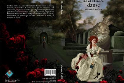 Couverture de roman, Dernier danse