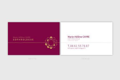 Logo - Marie-Hélène Cayre, sophrologue