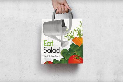 Sac papier - EatSalad