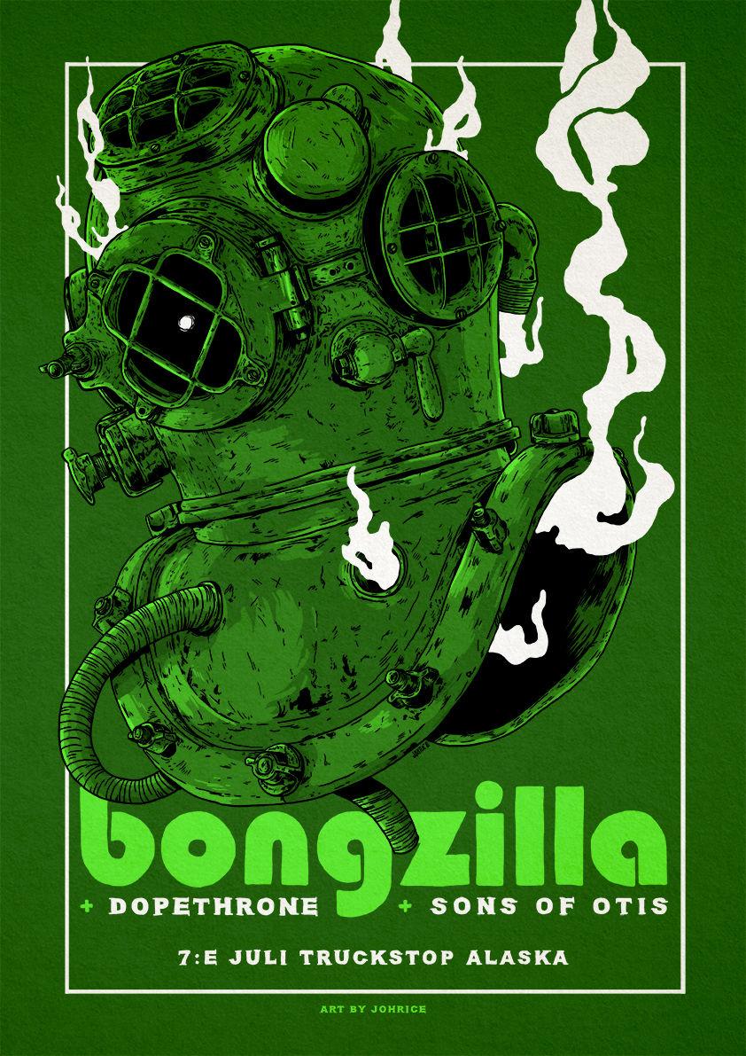 Bongzilla / Dopethrone Poster