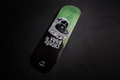 Planche de skate customisée