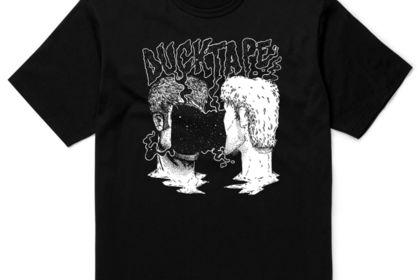 T-shirt pour le groupe DuckTape