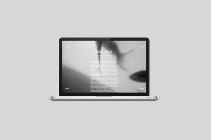 Webdesign pour un label de musique