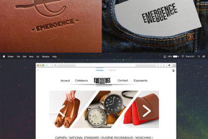 Recherche logo, webdesign site