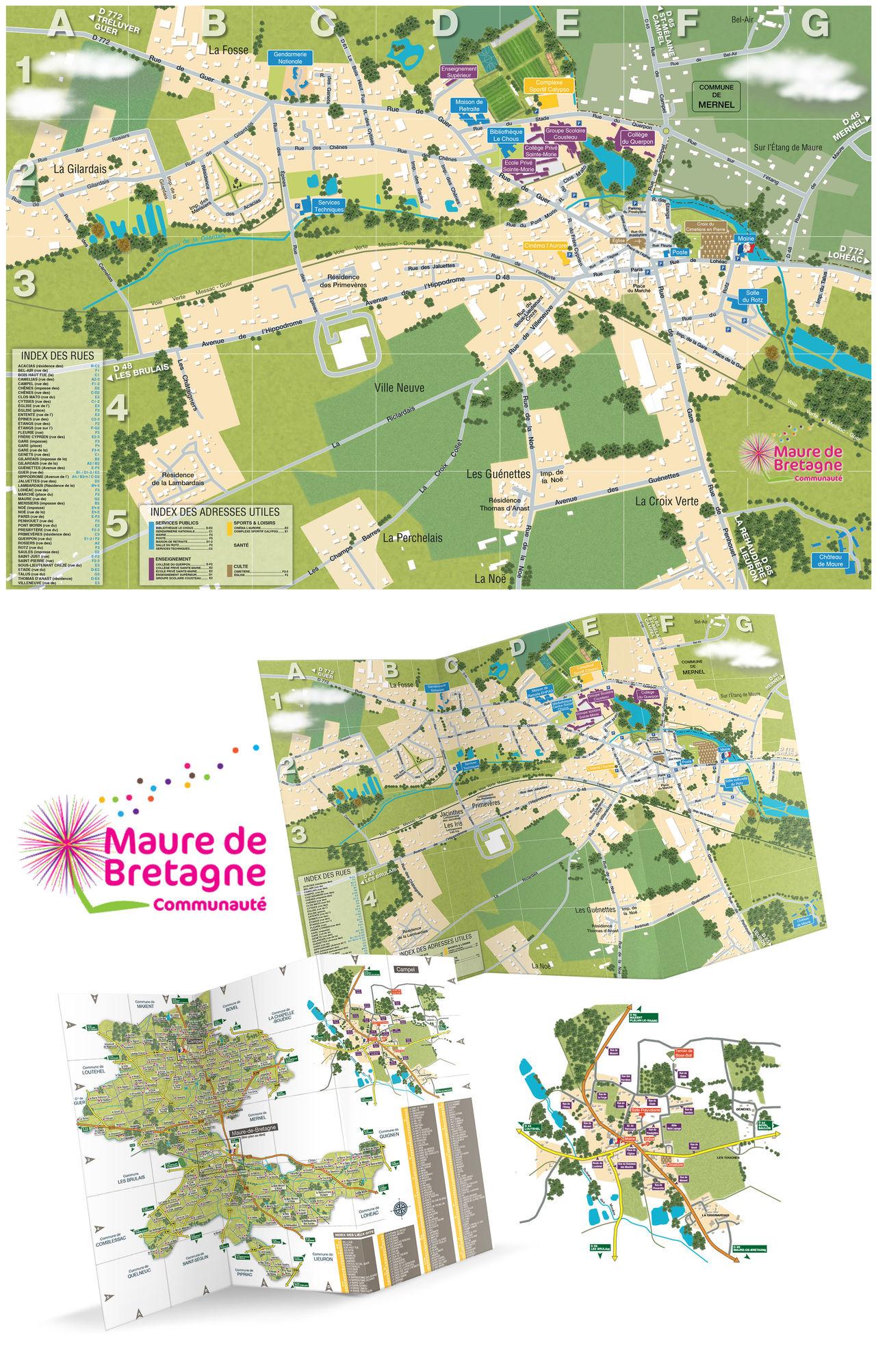 Cartographie Touristique #95586