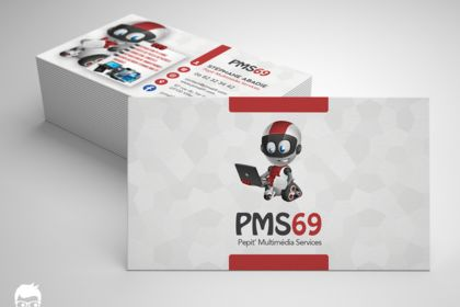Carte de visite pour PMS69