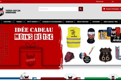 Web Design - Thorben Shop