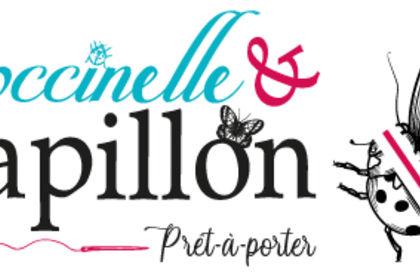 Logo - Coccinelle et Papillon