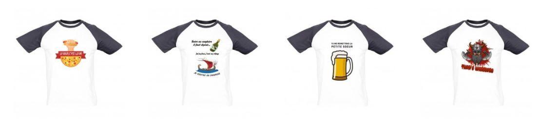 Visuels pour gamme de teeshirts