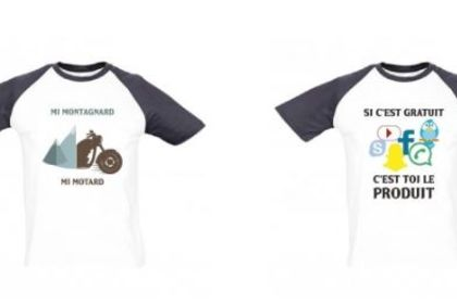 Création de visuel pour gamme de vêtements