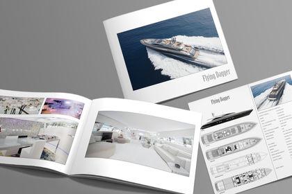 Brochure pour yacht