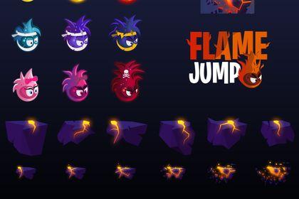 Pack Design Flame Jump